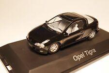 Opel Tigra A in SCHWARZ nero noir negro BLACK, Schuco LIMITED in 1:43 boxed!