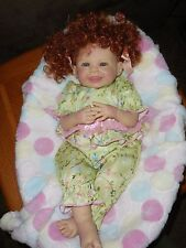 "Dollmaker Bonnie Chyle's and Linda Ricks  Fufu 22"" vinly collector doll"