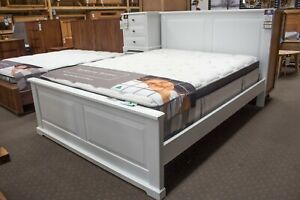 Louis - 3 Piece Bedroom Suite - High Pressure Laminate (HPL) - Queen Bed