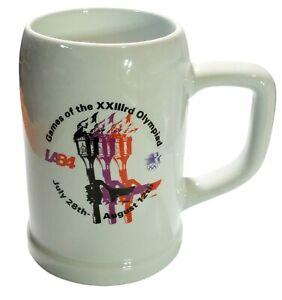 1984 Games Of The XXIII Olympiad LA84 Olympics Mug Stein Papel Brazil