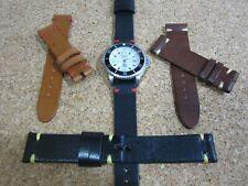 Correa Reloj cuero   Leather Watch Band Strap 18 - 20 - 22mm