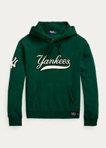 Polo Ralph Lauren (MLB) X NY Yankees Hoodie Green Mens (Sz. XXL)