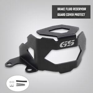 Black Front Brake Fluid Reservoir Guard Cover For BMW F800GS F700GS 2013-2018