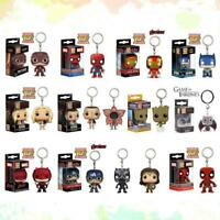 New Funko Pop Pocket Keychain Figure Key Chain Toy Pendant in stock Drogon  #03