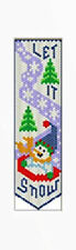 LET IT SNOW! BEADED BANNER PDF PATTERN ONLY