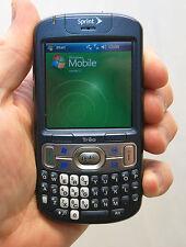 Palm Treo 800w 800-w Sprint Windows Pda Cell Phone Blue qwerty Gps internet WiFi