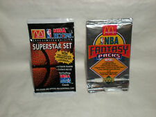 Lot of 2, MINT, McDonald's NBA Trading Cards