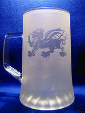 Stein 500ml with a Griffin sand etched on it.