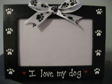 I LOVE MY DOG - custom personalized pet photo picture frame