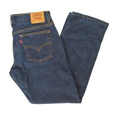 Vintage 90s Levis 572 Loose Fit Stovepipe Dark Wash Jeans Size 11 Jr. USA Made