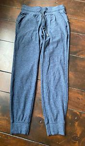 Lululemon Women's Blue/black Jogger Pants W Pockets Size 6 - Hardly Worn