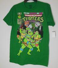 Ninja Turtles * NEW Men's Medium Graphic Tee T-Shirt NWT TMNT Rocksteady Bebop