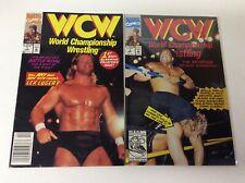 WCW WORLD CHAMPIONSHIP WRESTLING #1-2 (MARVEL/LEX LUGER/091874) FULL SET OF 2