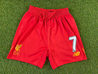 New Balance Liverpool FC. Kids Red Shorts Size GB XLB (12-13 Years)