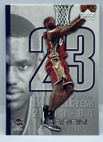2005 LEBRON JAMES UPPER DECK #LJ12 ROOKIE OF THE YEAR CARD, CLEVELAND CAVALIERS