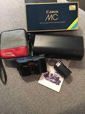 Canon Mc Micro Compact 35 mm Auto Focus Camera + Tasche