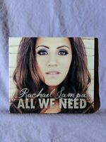 All We Need by Rachael Lampa (CD, 2011, 220 Entertainment Group) Digipak Gospel