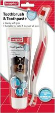 Beaphar Dog Toothbrush and Toothpaste Kit 100g Delivery