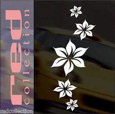 redcollection AUTO AUFKLEBER Car Tattoo Sternblume 15 Blumen Sticker