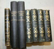 lot d' ancien livre en grec - auteurs antiques- Platon,Longinus & Dindore