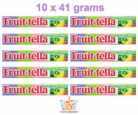 10 x FRUITTELLA Apple Currant Raspberry Pear Flavor Chewy Candy with Fruit Juice