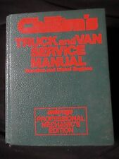 CHILTONS Professional Truck/Van Service Manual Gasoline/Diesel Engines 1978-1984