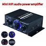400W Power Amplifier HiFi Stereo Home Audio Digital Car Amp MP3 MIC USB Mini 12V