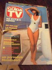 GUIDA TV N°3 1983 CORINNE CLERY CARRA' GRACE JONES