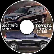 TOYOTA PRADO 150 155 SERIES 2008-2012 GRJ TRJ KDJ Workshop Manual CD