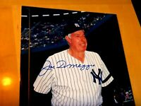 """JOE DIMAGGIO Signed Yankees 8""""x10"""" Baseball Photo -First Hand Authenticated"""