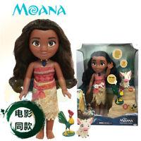 Moana Princess Talking PVC Action Figure Dolls Kid Toys Model Toys In Box New