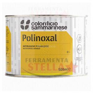 GLICEROFTALICA VERNICE ANTIRUGGINE ANTI RUGGINE ARANCIO 0,5 LT FERRO POLINOXAL