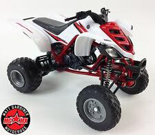 Yamaha Raptor 660R 1:12 Die-Cast ATV QUAD Motorbike Toy Model Bike New Ray White