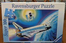 Space Shuttle - Super 100 Piece Puzzle - Ravensburger - 1998 - Missing 1 Piece