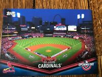 St. Louis Cardinals 2018 Topps Opening Day Opening Day at the Ballpark Insert