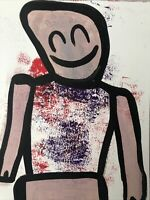 Hasworld original Abstract Expressionist Signed,Street Pop,kunst Contemporary