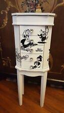 Jewelry Armoire Cabinet Chest Organizer, storage, holder, Alice in Wonderland