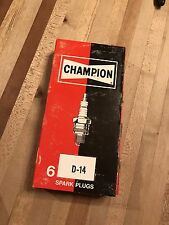 Champion D-14 Spark Plug Snowmobile