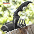 """Tactical Karambit 5"""" Fixed Blade Tactical Knife Serrated Blade Paddle Holster"""
