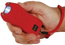 20 Mil Volt Runt RED Flashlight Stun Gun Self Defense Hiking Camping w case