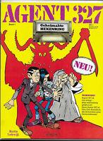 Agent 327 Nr.1 von 1983  - TOP Z1 Ehapa Comic-Album von Martin Lodewijk