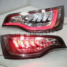 2006-2010 Year Taillights For Audi Q7 LED Rear Lights Black Housing Clear Lens