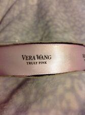 Vera Wang Satin Ribbon, Truly Pink, 7/8 Inches Wide, 50 Yards