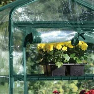 Garden 4 Tier Small Greenhouse Bag Garden Plant Cover Growbag Clear PVC Plastic