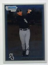2010 Bowman Chrome TRAYCE THOMPSON Rookie Card RC #214 Los Angeles Dodgers RARE