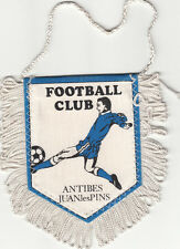 Antibes Juan-les-pins Football Club SC FOOTBALL FANION WIMPEL PENNANT 80s