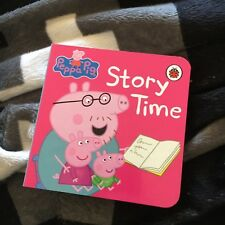 NEW. PEPPA PIG. 9 BY 9 CM. STORY TIME. MINI BOARDED. LADYBIRD