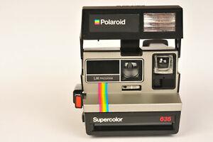 Polaroid Supercolor 635 LM Program Type 600 Film Instant Camera