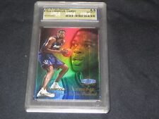 MARCUS CAMBY 1997 FLAIR SHOWCASE GENUINE AUTHENTIC BASKETBALL CARD GRADED 8.5