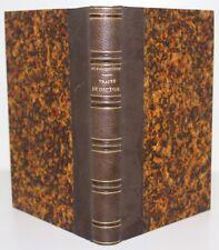 1df99e378d9 BECQ DE FOUQUIERES Traité de Diction et de lecture à voix haute E.O. 1881  reliée